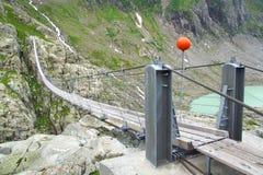Trift Bridge. Switzerland Stock Photos