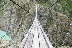 Trift Bridge. Switzerland Royalty Free Stock Photography