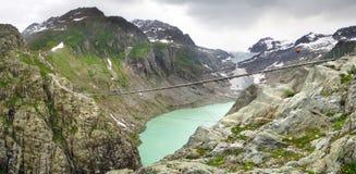 Trift Bridge. Switzerland Royalty Free Stock Photos
