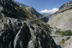 trift footbridge Стоковая Фотография