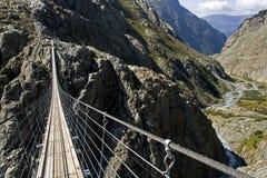 trift footbridge Стоковая Фотография RF