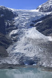 Trift Glacier. Situated in the Urner Alps, Switzerland Stock Photos