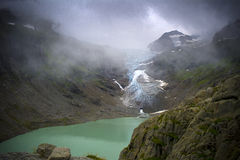 Trift glacier Stock Photography
