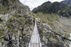 Trift most, Szwajcaria Zdjęcie Stock