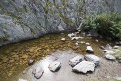 Trift River Valley, die Schweiz Stockbild