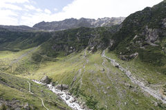 Trift river valley, Switzerland Royalty Free Stock Photography