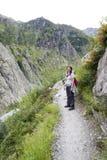 Trift rzeczna dolina, Szwajcaria Zdjęcia Royalty Free