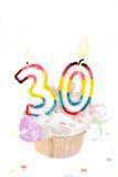 trigésimo cumpleaños imagenes de archivo