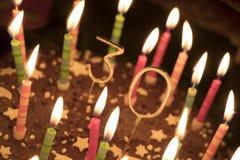 trigésimo cumpleaños Fotografía de archivo libre de regalías