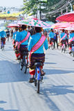 trigésimo festival del paraguas de Bosang del aniversario en la provincia de Chiangmai de Tailandia fotos de archivo libres de regalías