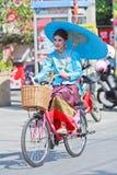 trigésimo festival del paraguas de Bosang del aniversario en la provincia de Chiangmai de Tailandia imagen de archivo libre de regalías
