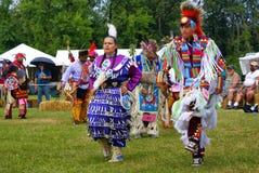 trigésimo Pleno verano indio americano anual de Thunderbird imagen de archivo