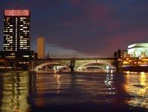 trigésimo puente de la calle en Philadelphia fotos de archivo