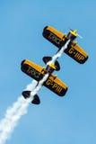 Trig aerobatic team Stock Images