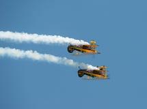 Trig aerobatic team Royalty Free Stock Image