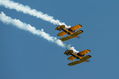 Trig aerobatic team Royalty Free Stock Photos