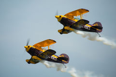 Trig aerobatic team Stock Photos