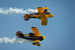 Trig aerobatic team Royalty Free Stock Photos