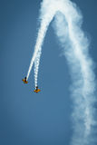 Trig aerobatic team Stock Images