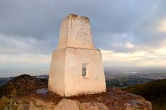 The trig point Royalty Free Stock Image