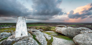 Trig Point Stock Image