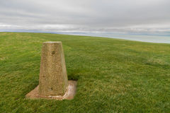 Trig Triangulation Point. Royalty Free Stock Images