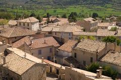 Trigance Francia del sud Fotografia Stock Libera da Diritti
