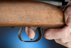 Trigger finger Stock Images