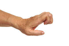 Trigger finger Royalty Free Stock Photography