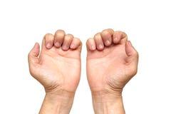 Trigger finger Stock Photo