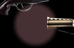 Trigger that is on a revolver Royalty Free Stock Image