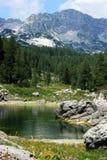 Triglav湖谷 库存照片