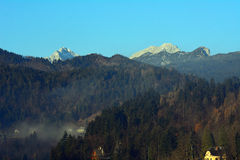 Triglav, Bled, Slovenia. Triglav next to Lake Bled, Slovenia Stock Photography