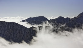 Triglav, highest peak in Julian Alps. Royalty Free Stock Photo