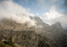 Triglav, highest peak in the Julian Alps. Royalty Free Stock Image