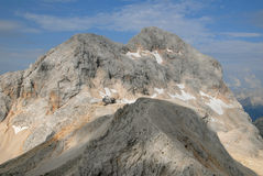 Triglav, the highest slovenian mountain Stock Image