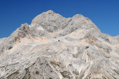 Triglav, the highest slovenian mountain Royalty Free Stock Photography