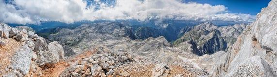 Triglav in Julian Alps Stock Images