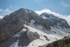 Triglav, Julien Alps, Slovenia Fotografie Stock Libere da Diritti