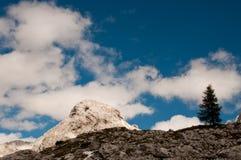 Triglav lakes valley hiking. Triglav lake hiking in Julian Alps, Slovenia royalty free stock photography