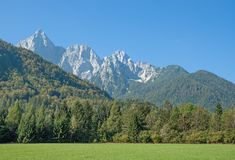 Triglav Mountain,Slovenia Royalty Free Stock Photography