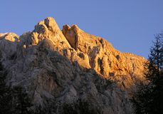 Triglav mountains royalty free stock photography