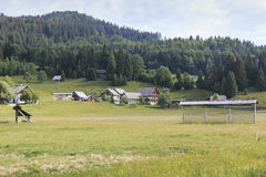 Triglav national park, Bohinj valley, Julian Alps, Slovenia, Europe. Stock Photos