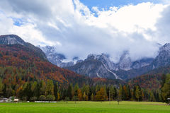 Triglav National Park. Julian Alps, Slovenia Royalty Free Stock Images