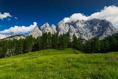 Triglav National Park in Julian Alps, Slovenia Royalty Free Stock Image