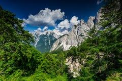 Triglav National Park in Julian Alps, Slovenia Royalty Free Stock Photos
