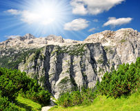 Triglav National Park - Slovenia Stock Photo
