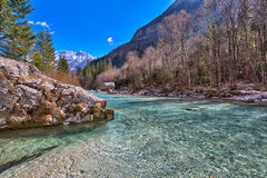 In the Triglav National Park in Slovenia, Eastern Europe Royalty Free Stock Image