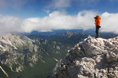 Triglav park narodowy Zdjęcia Stock