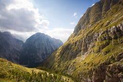 Triglav, più alto picco nelle alpi di Julian. Immagine Stock Libera da Diritti